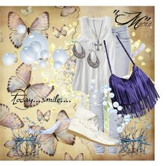 A Little bit of Blue♥, created by valerie-mizzy-gerard-hulse on Polyvore