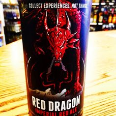 Dead Frog Brewing Co. - Imperial Red Ale#redale#bccraftbeer #design #beer #beerporn #reddragon