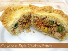 Guyanese Chicken Patties..Yumm!