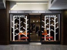 nendo: wandering forest of Hermés - designboom | architecture & design magazine
