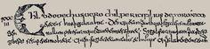 Cursive mérovingienne: manuscrit de Grégoire de Tours, dit de Corbie (VII°s) L'écriture mérovingienne: c'est la transformation de l'ancienne cursive romaine telle qu'on la rencontre surtout dans les diplômes des rois francs de la dynastie mérovingienne. Elle présente des formes surchargées de traits parasites, et des caractères très serrés, ce qui la rend difficile à déchiffrer.