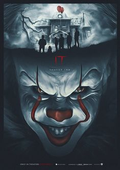 It Chapter Two by Pixel Warfare 🎈 Horror Movie Characters, Comic Book Characters, Horror Movies, Clown Pennywise, Pennywise The Dancing Clown, Dream Warriors, Es Der Clown, Clown Tattoo, It The Clown Movie