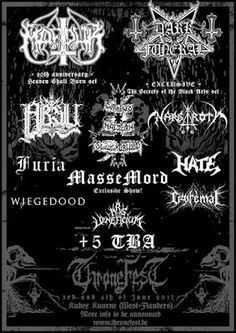 Long Live The Loud 666: THRONE FEST 3 AND 4 JUNE 2017 WITH:MARDUK,DARKFUNE...