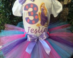 Princess Sofia The First Birthday Tutu por PrincessBirthdayTees
