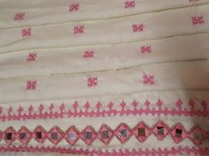 Gujrati stitch New Pattern for Beginners Part 1 | Hand Embroidery - YouTube