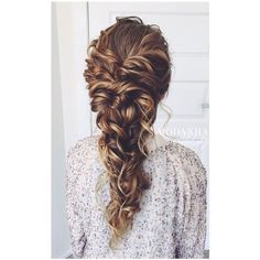 30 Fancy Hairstyles You Can Try Today SloDive ❤ liked on Polyvore featuring hair, braid and hairstyle