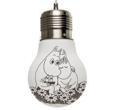 Moomin Glow Lamp small - together forever