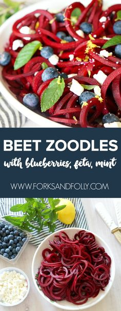 Spiralize raw beets