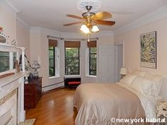 Check out this elegant 3 bedroom apartment in the vibrant neighborhood of Crown Heights Brooklyn! Laced with hardwood floors it features decorative fireplaces, stained glass skylight and multiple windows to bring in plenty of natural light. There are also dainty French doors separating each room. Enjoy :-)