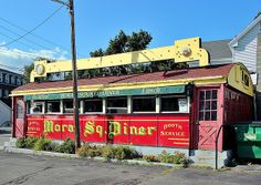 Moran Square Diner | Fitchburg, MA. Just asking to be restored :)