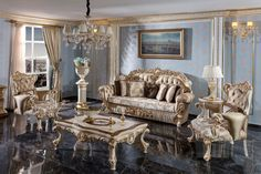 Royal Furniture, Luxury Home Furniture, French Furniture, Online Furniture, Mirror Tv Stand, Dining Set, Dining Room, Bedroom Sofa, Luxury Sofa