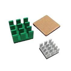 #56tiankoou 3pcs #aluminum #heatsink set kit accessory for pi 3 model b / raspber,  View more on the LINK: http://www.zeppy.io/product/gb/2/122160639425/
