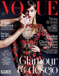 Barbara Palvin on the cover of Vogue Portugal, January 2015. Photo: Marcin Tyszka.