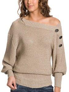 Genova Button Sweater