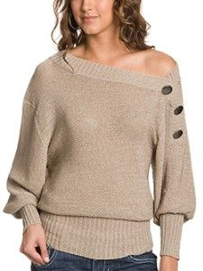 Genova Button Sweater