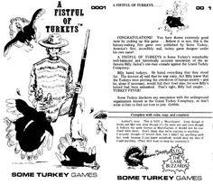 A Fistful of Turkeys