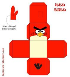 J. Ossorio Papercraft: Papercraft recortable de slos Angry Birds Cute Dog Drawing, Diy For Kids, Crafts For Kids, Anime Crafts, Bird Birthday Parties, Angry Birds Cake, Diy And Crafts, Paper Crafts, Paper Models