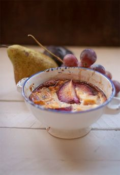 Receta 1052: Flan de frutas caliente » 1080 Fotos de cocina
