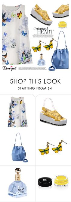 """""""ROSEGAL"""" by helenevlacho ❤ liked on Polyvore featuring Givenchy and rosegal"""