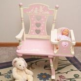 Found it at Wayfair - Rock A Buddies Rock-A-My-Baby Rocker  Oh what I would give for a little grandaughter one day!
