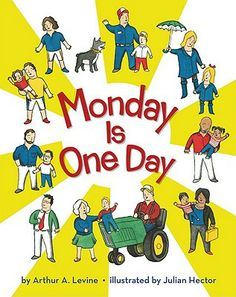 Monday is One Day by Arthur A. Levine #Books #FathersDay