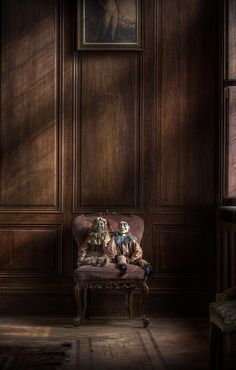 By Andre Govia --an abandoned manor house last occupied in the mid 1970's still in great shape complete with furniture and belongings, a strong smell of damp around the property and decay on the upper floor ceilings.