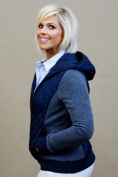 813498337e355 Barbour Brimham Ladies Hoodie sweater in Navy LOL0053NY71