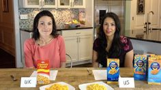 PHOTO: Food bloggers Lisa Leake and Vani Hari sampled Kraft's Mac and Cheese; the American version has yellow food coloring and the UK one is additive free.