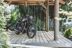 Amazing Creation of a Samurai Motorcycle. A Silverbullet Cafe Racer Designed by SHENFU (Thanh Ho Ngo, Graz). Most beautiful Kawasaki LTD 450 by Austrian Custom Garage Titan Motorcycle Company. Gorgeous Tarantino Bike. True Samurai Bike. Stingray Handlebar. Bike for Cancer Kids. Charity. Japanese Heritage . . . . #titanmotorcycles #custom #motorcycle #handcrafted #austria #caferacer #vintage #bikes #lifestyle #motorrad #markyourterritory #classic #vintage » #kawasaki #ltd450 #450… Custom Garages, Custom Bikes, Kids Charity, Motorcycle Workshop, Motorcycle Companies, Vintage Bikes, Samurai, Most Beautiful, Graz
