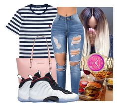 """"""""""" by kodakdej ❤ liked on Polyvore featuring Ralph Lauren, MICHAEL Michael Kors, Chanel and NIKE"""