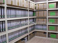 Filing File Boltless Rack   V Racking