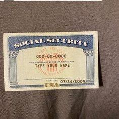 Social Security Card 16 – SSN DOWNLOAD Driver License Online, Driver's License, Drivers License California, Fake Birth Certificate, Passport Online, Buy Weed Online, No Response, Photo Editing, Notes