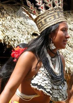 Indigenous Woman or Embera