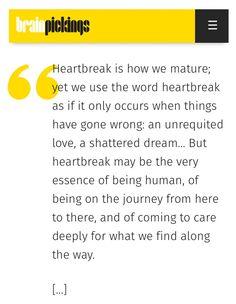 David Whyte on Heartbreak