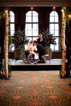 Wedding in a Wheelchair: A Disabled Bride's Wedding | Love My Dress® UK Wedding Blog. >>> See it. Believe it. Do it. Watch thousands of spinal cord injury videos at SPINALpedia.com
