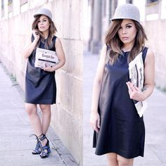 pri_dinizHeels and hat - @jessicabuurman  CARY   # All Shoes # High Heels# Sandals # Open Toe + Peep Toe #STREET FASHION #jessicabuurman @Jessica Buurman @instagram