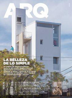 Tapa de la edición impresa de ARQ del martes 10 de noviembre de 2015