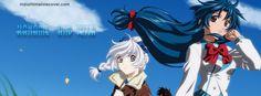 Kaname Chidori and Tessa Facebook Cover InstallTimelineCover.com