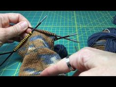 Tutorial tejer calcetines Parte 5 con Kinda Magic Socks de Wool and The . Socks, Magic, Wool, Knitting, Diy, Inspiration, Videos, Youtube, Stockings