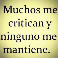 critican