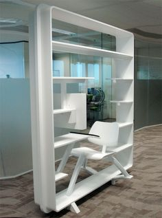 Bookshelf Workstation