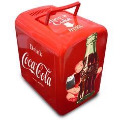 Mini Geladeira Take a Coke