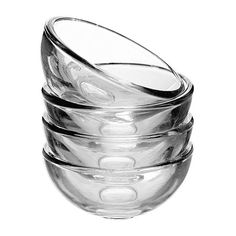 IKEA - BLANDA, Bowl, The serving bowls in the BLANDA series are available in several different materials and sizes – mix and match according to taste and need.Stack the smaller sizes inside the larger of the same range, to save space when not in use.