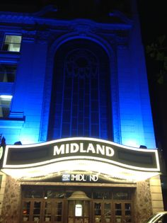 The Midland Theatre in downtown Kansas City, MO