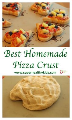 Best Homemade Pizza Crust Recipe | Healthy Ideas for Kids