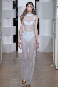 Léa Peckre for Maison Lejaby RTW Fall 2014 - Slideshow - Runway, Fashion Week, Fashion Shows, Reviews and Fashion Images - WWD.com
