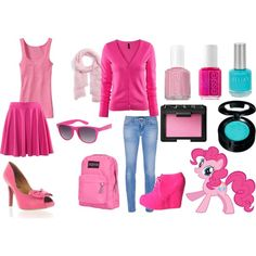 Pinkie Pie coture.... would do with pink sneakers and jeans