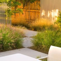 Your home doesn't need a modern exterior to have a modern landscape