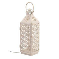 Lámpara de metal tipo prisma pequeña #iluminacion #decoracion #lamparas #regalos