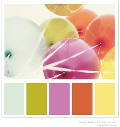 """Pretty """"pick me up"""" colour palette to get you through the wintah!"""